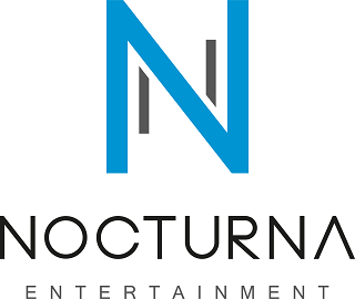 Nocturna Entertainment Logo HG weiss