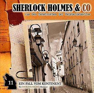 Sherlock Holmes & Co Ein Fall vom Kontinent