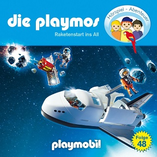 die playmos raketenstart ins all