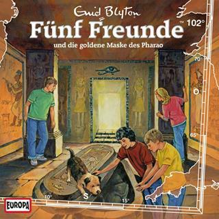 fünf freunde und die goldene maske des pharao